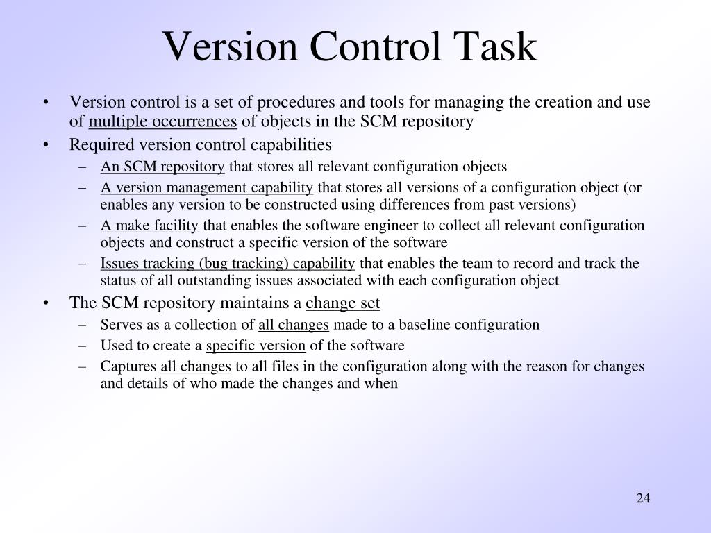 Version Control Task
