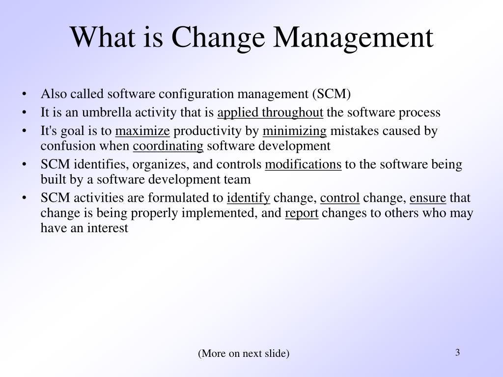 What is Change Management