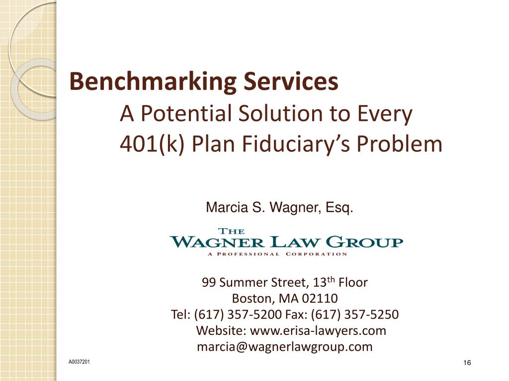 Benchmarking Services