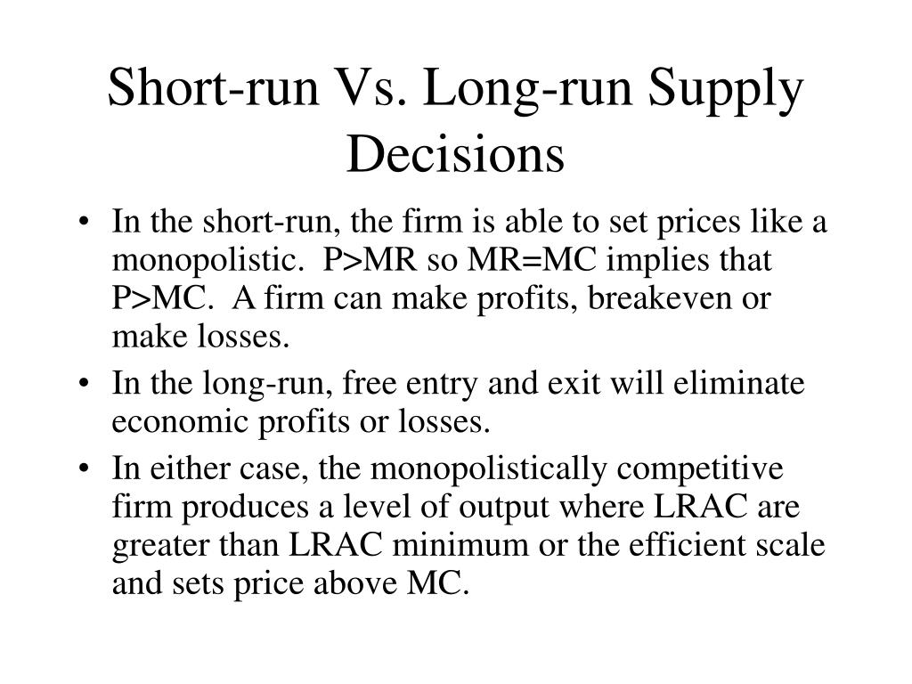 micro economics short run versus long Short run vs long run short run time frame of short and long run micro economics my blog list a better tomorrow key skills about me.