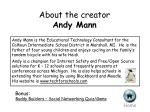 about the creator andy mann