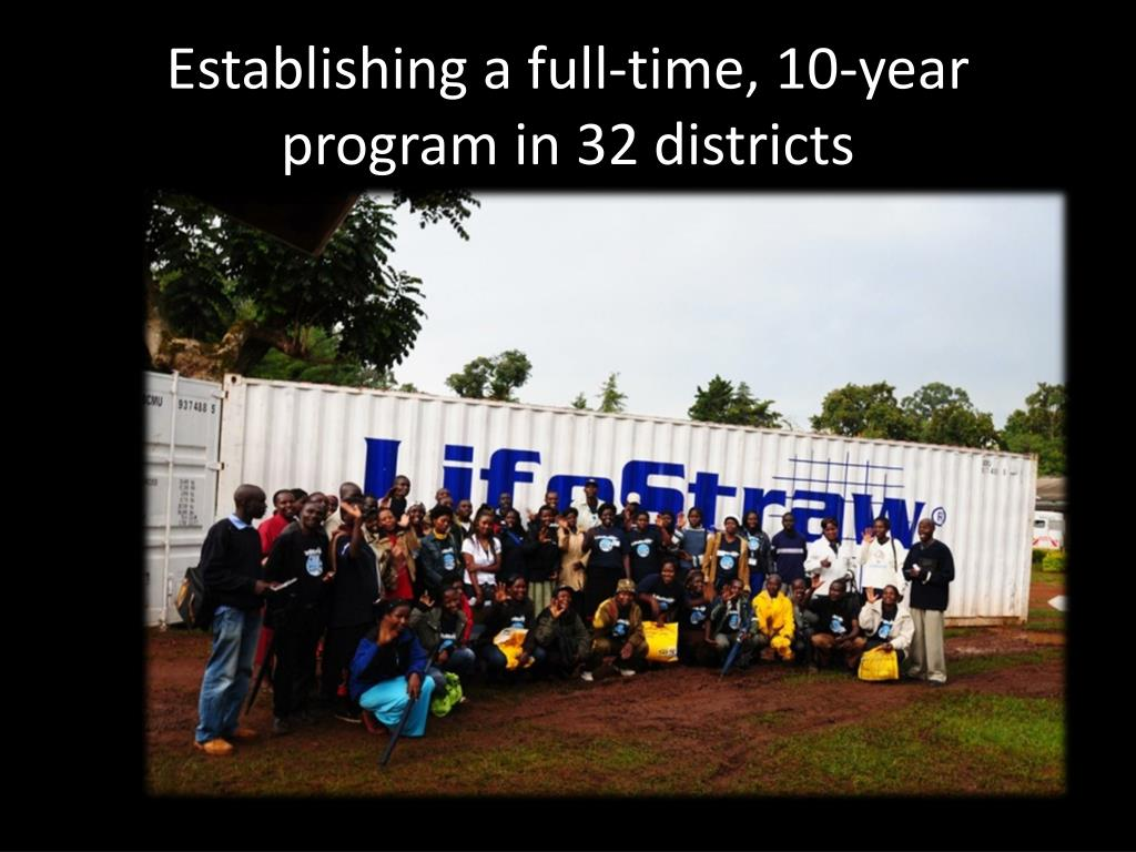 Establishing a full-time, 10-year program in 32 districts