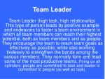 team leader22