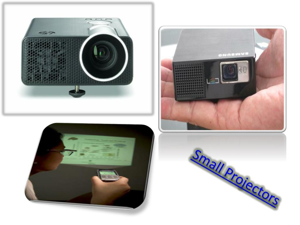 Small Projectors