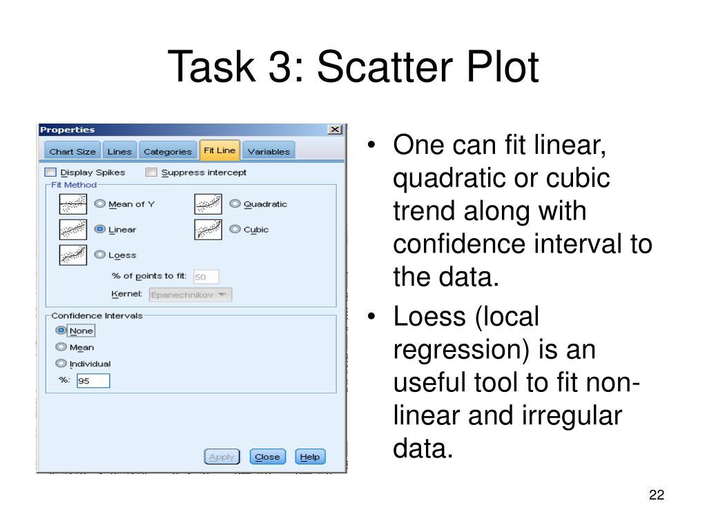 Task 3: Scatter Plot