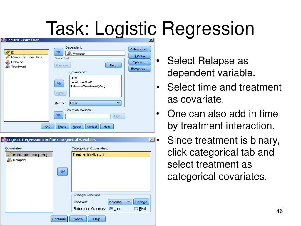 Task: Logistic Regression