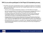 fpic is an active participant in the project 25 standards process