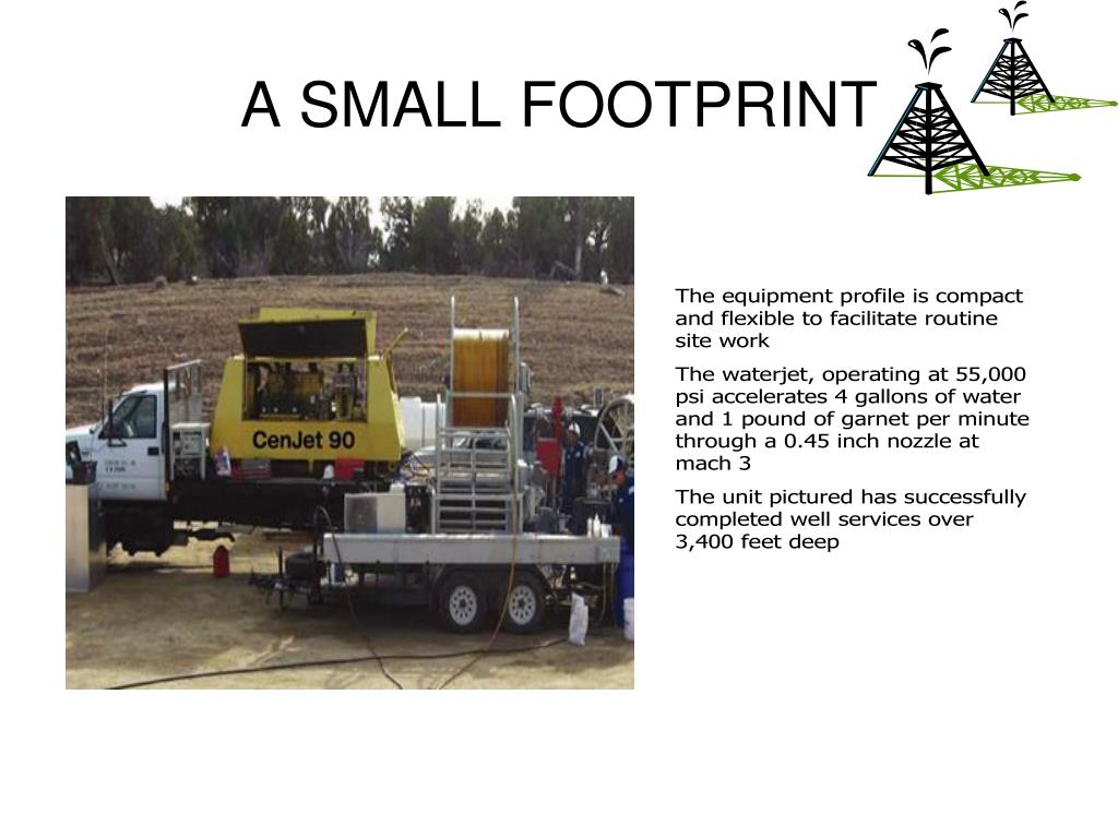 A SMALL FOOTPRINT