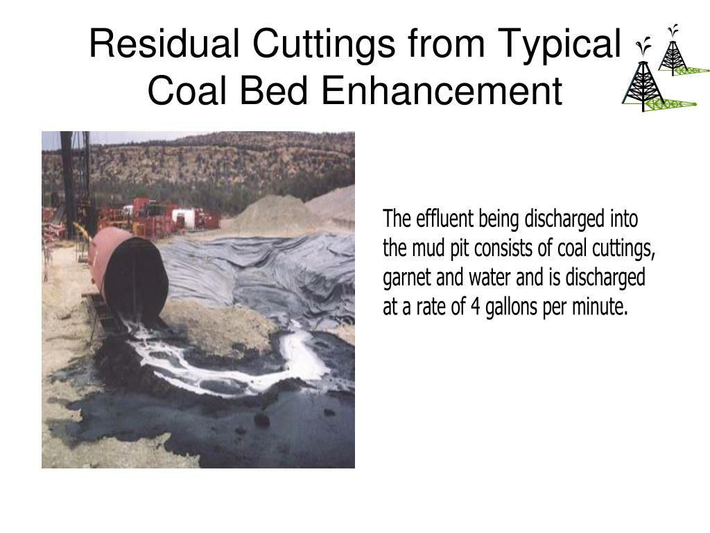 Residual Cuttings from Typical Coal Bed Enhancement