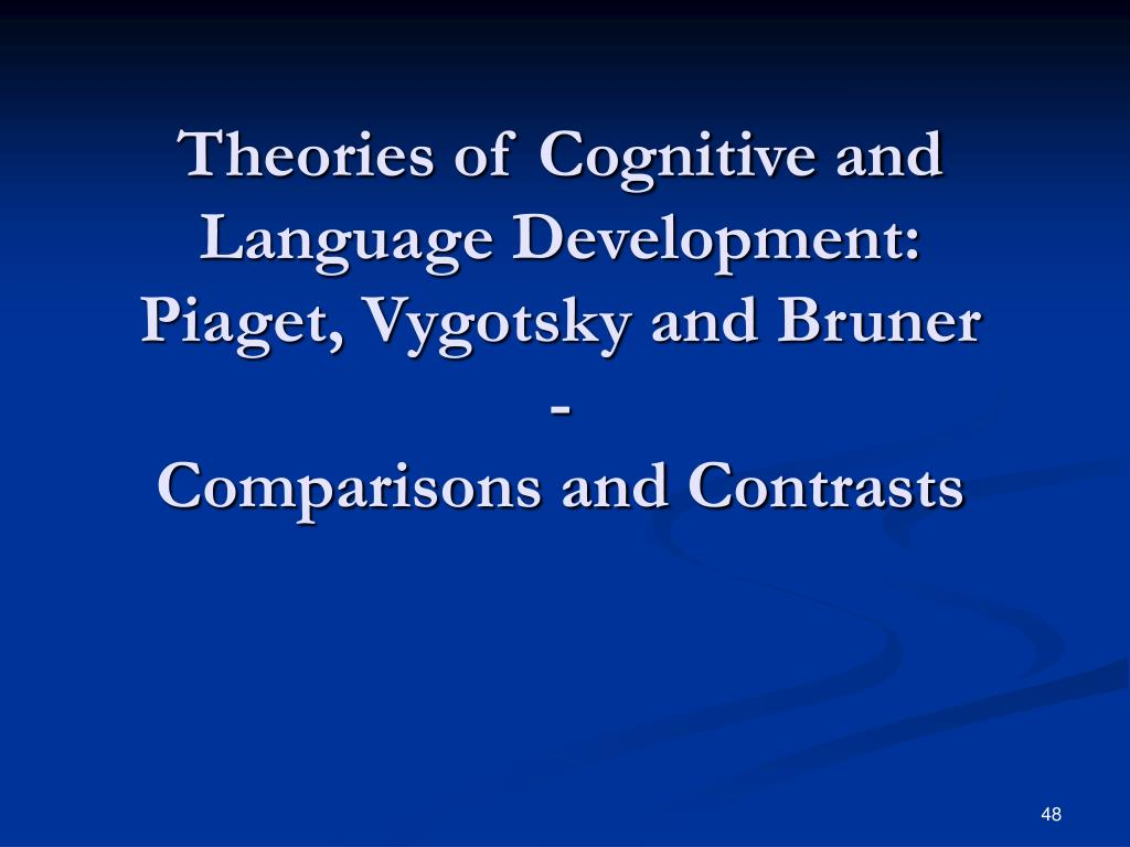 Theories of Cognitive and Language Development: