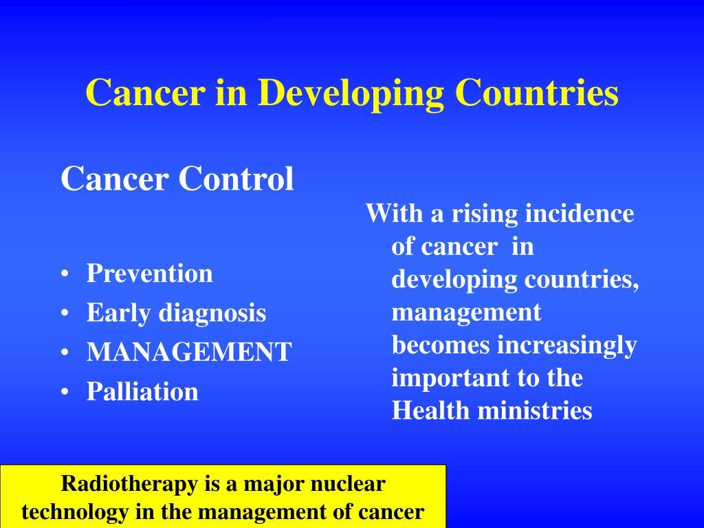 Cancer Control