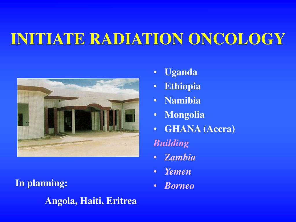 INITIATE RADIATION ONCOLOGY