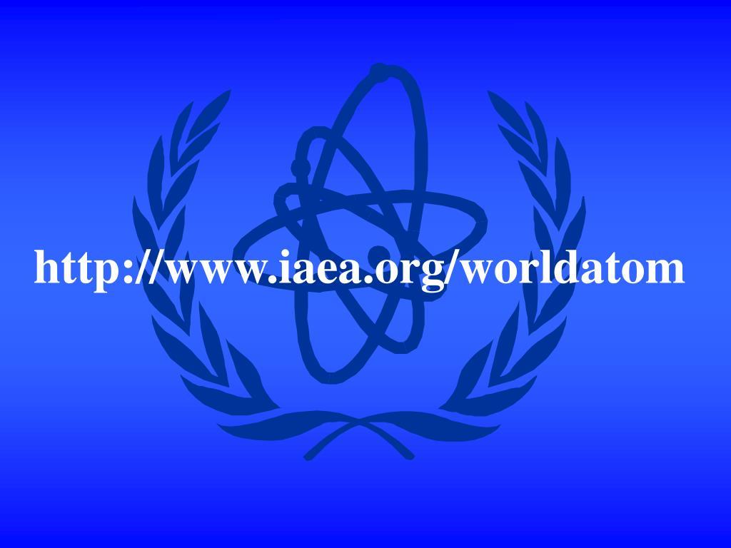 http://www.iaea.org/worldatom