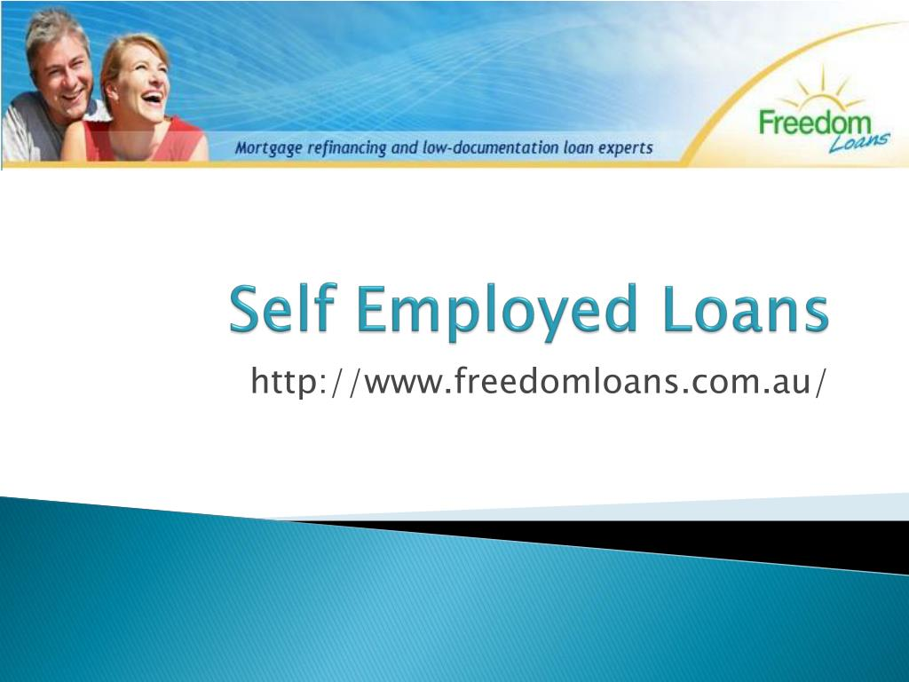 self employed loans