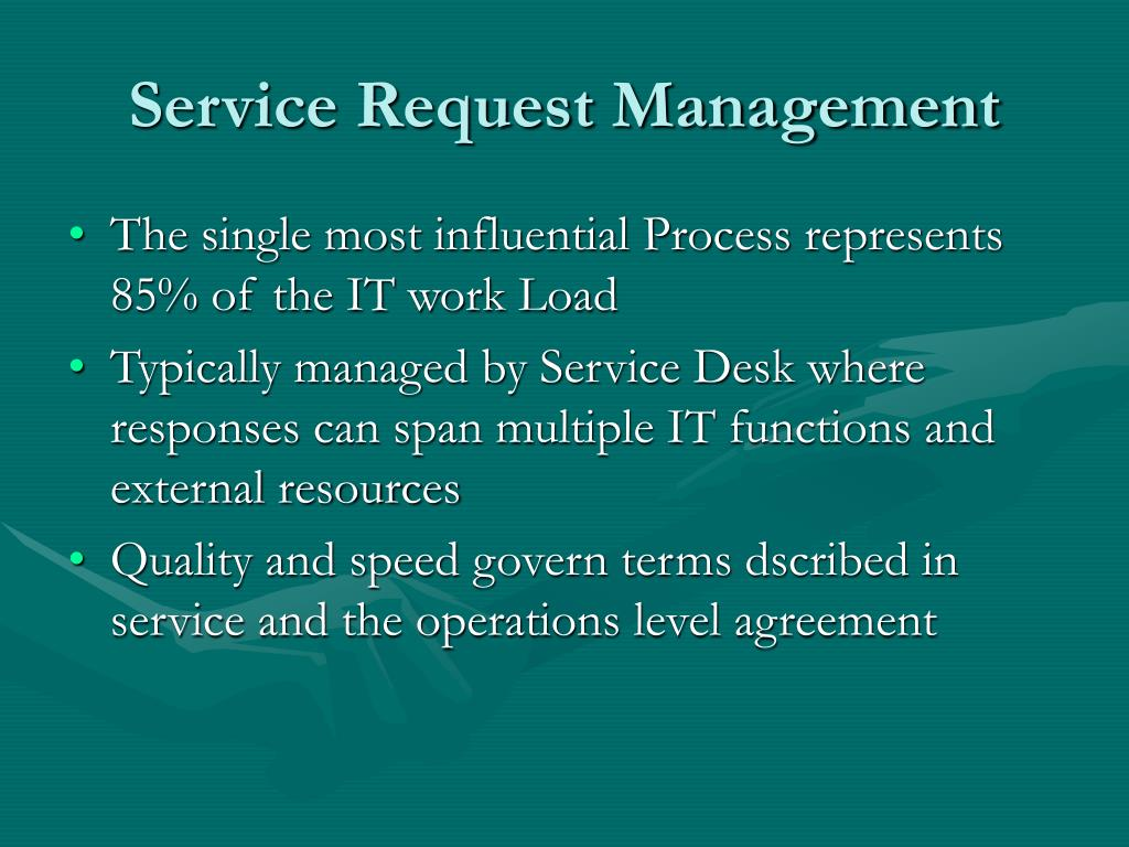 Service Request Management