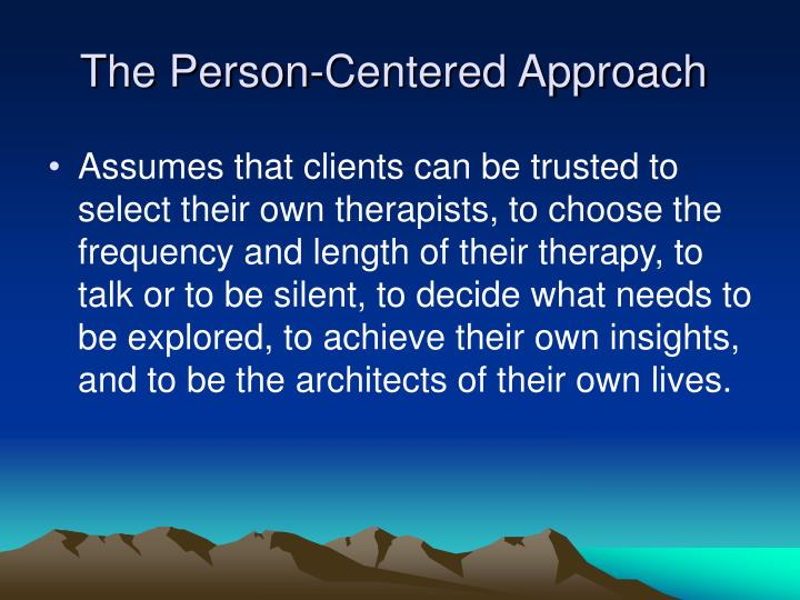 person centred approach carl rogers essay Carl rogers' theory of personality is just (who was introduced early in this essay) the person-centered approach has had impact on domains outside of.