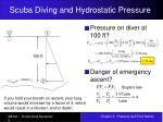 scuba diving and hydrostatic pressure9