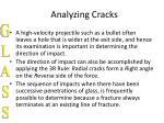 analyzing cracks17