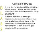 collection of glass