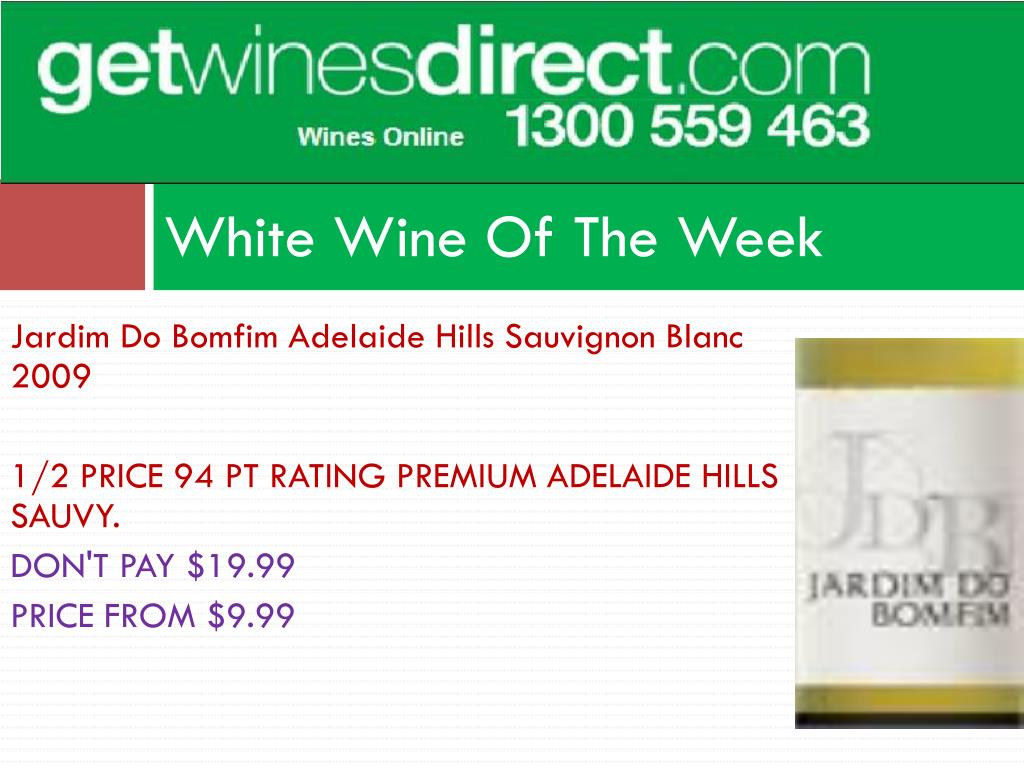 White Wine Of The Week