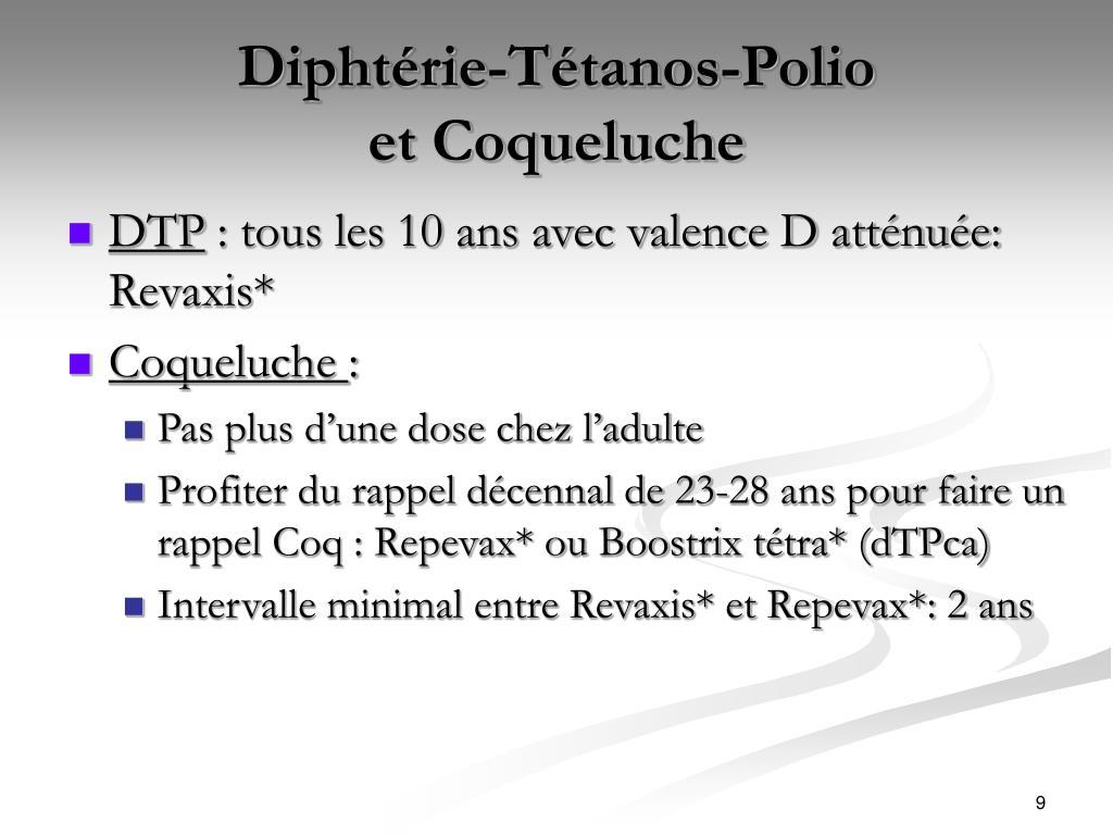 Diphtérie-Tétanos-Polio