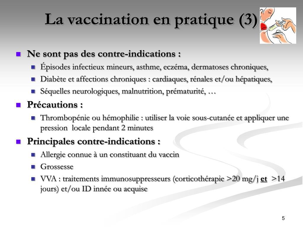 La vaccination en pratique (3)