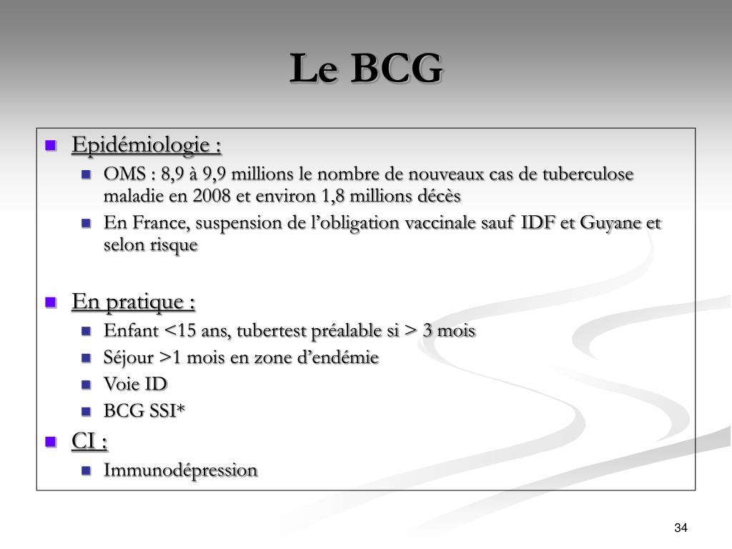 Le BCG