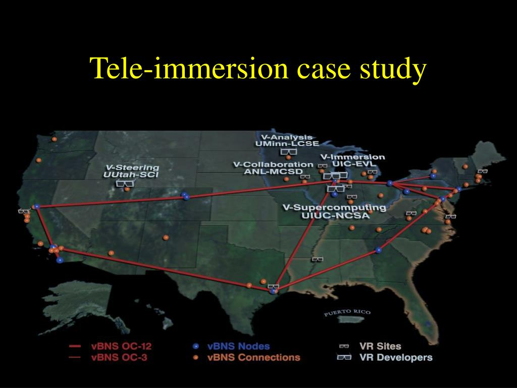 Tele-immersion case study