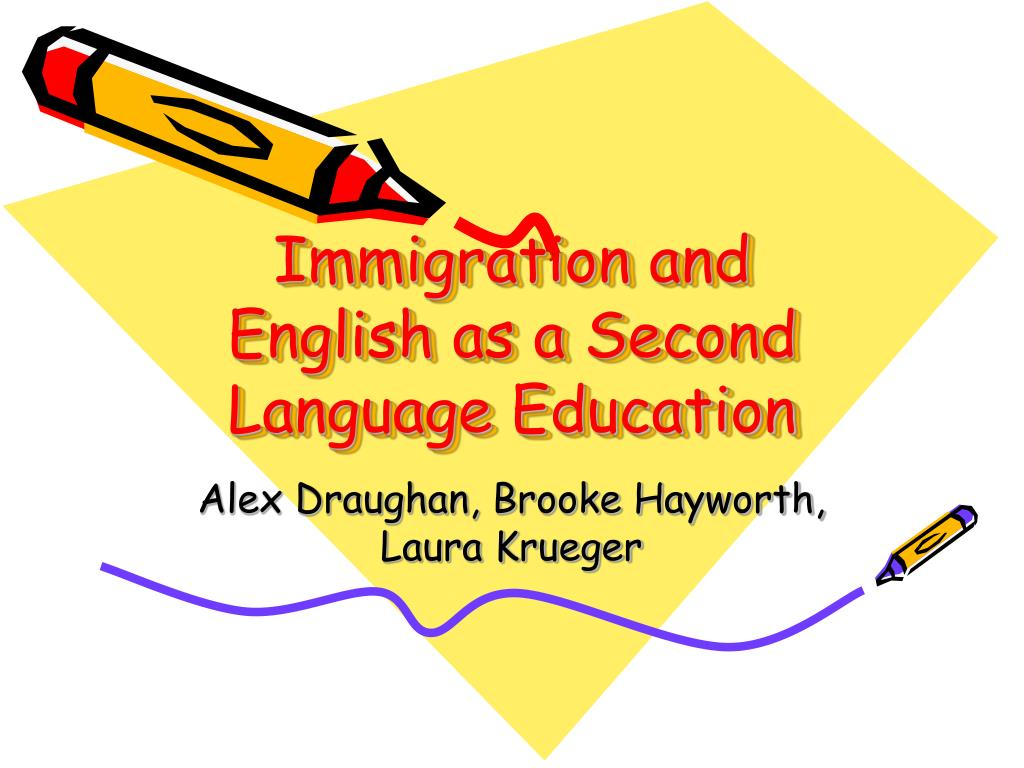 Immigration and English as a Second Language Education