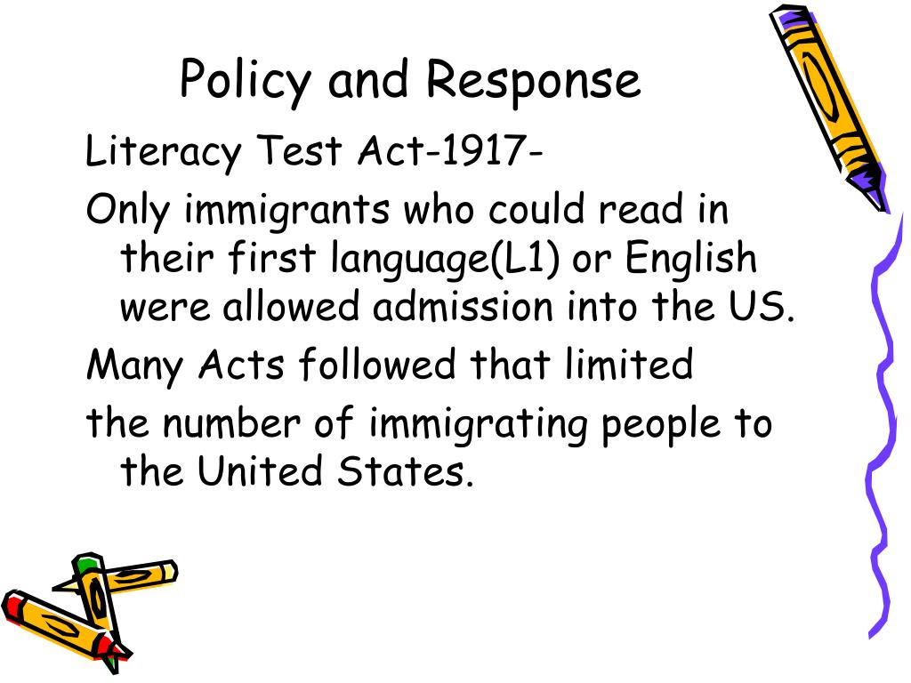 Policy and Response