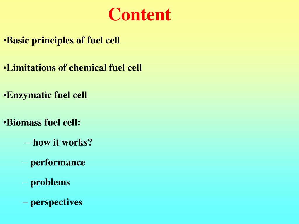 PPT - Biomass Fuel Cells PowerPoint Presentation - ID:389005
