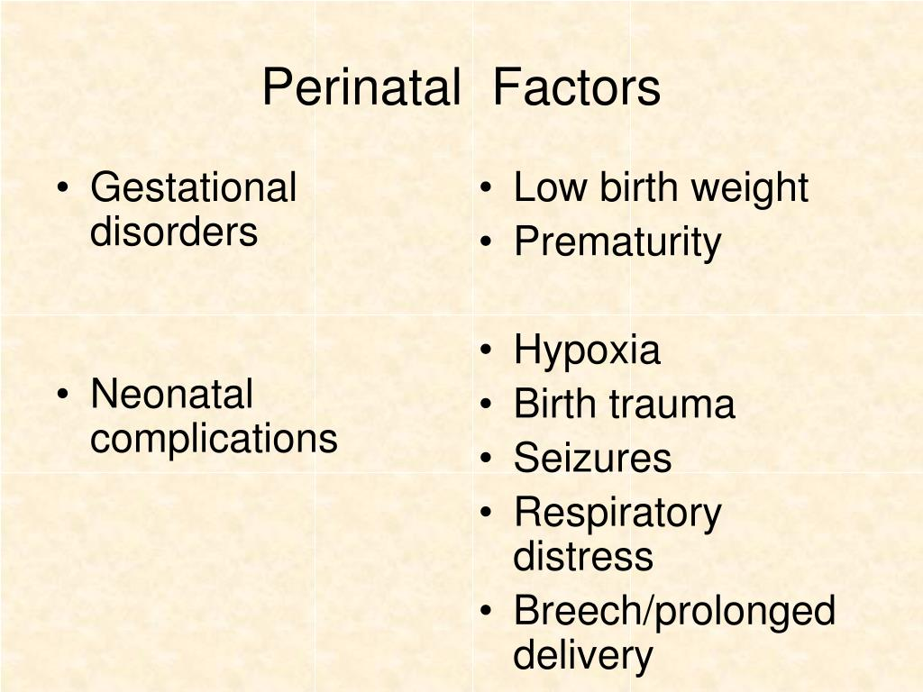 Gestational disorders