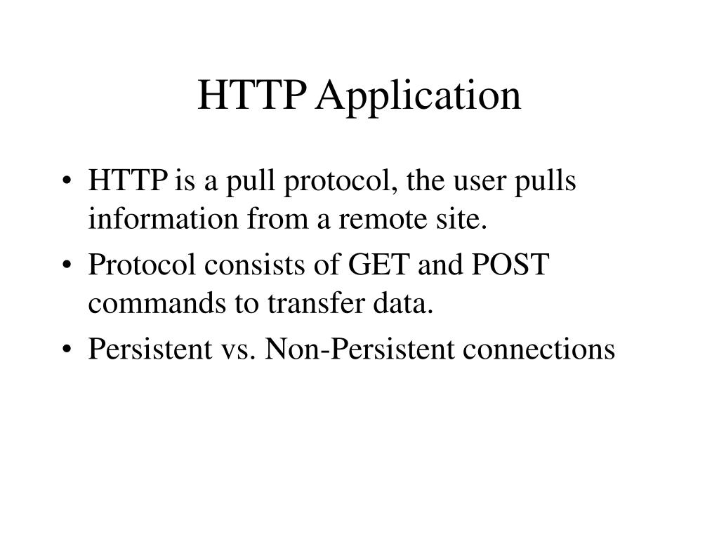 HTTP Application