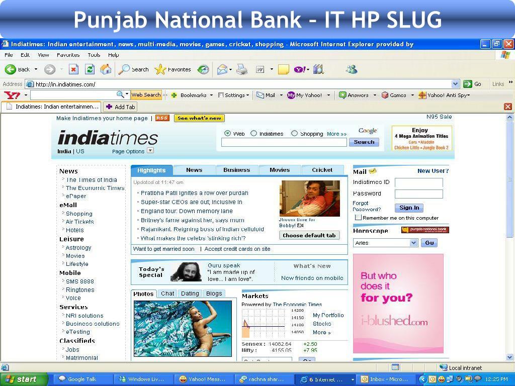 Punjab National Bank – IT HP SLUG