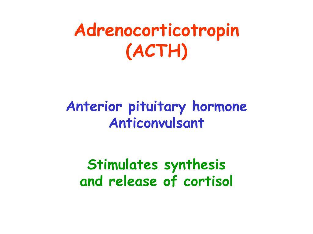 Adrenocorticotropin
