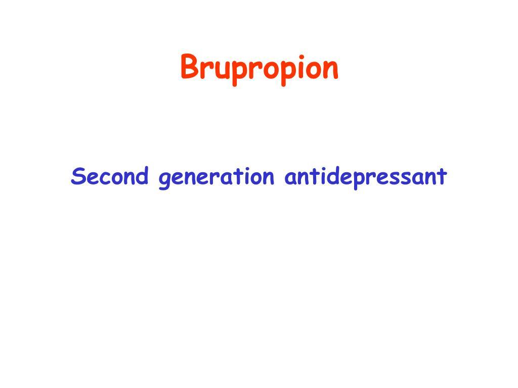 Brupropion