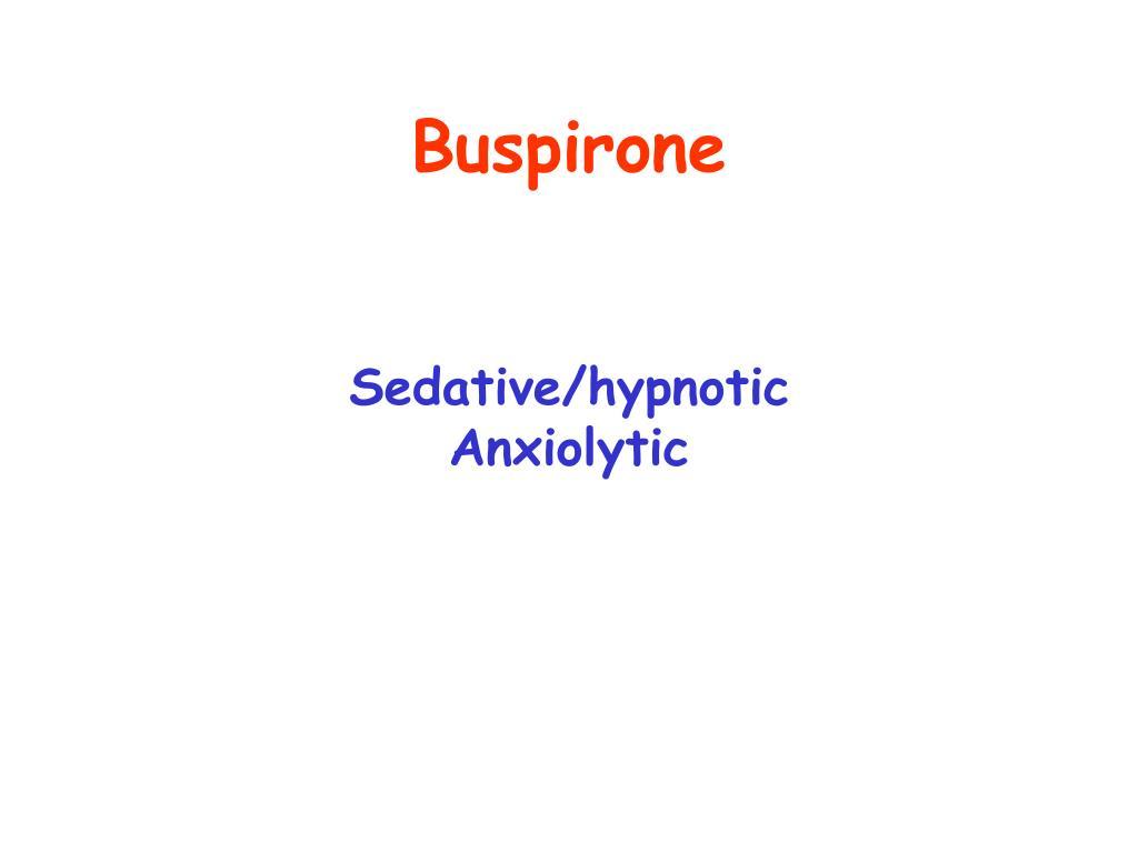 Buspirone