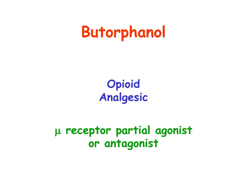 Butorphanol
