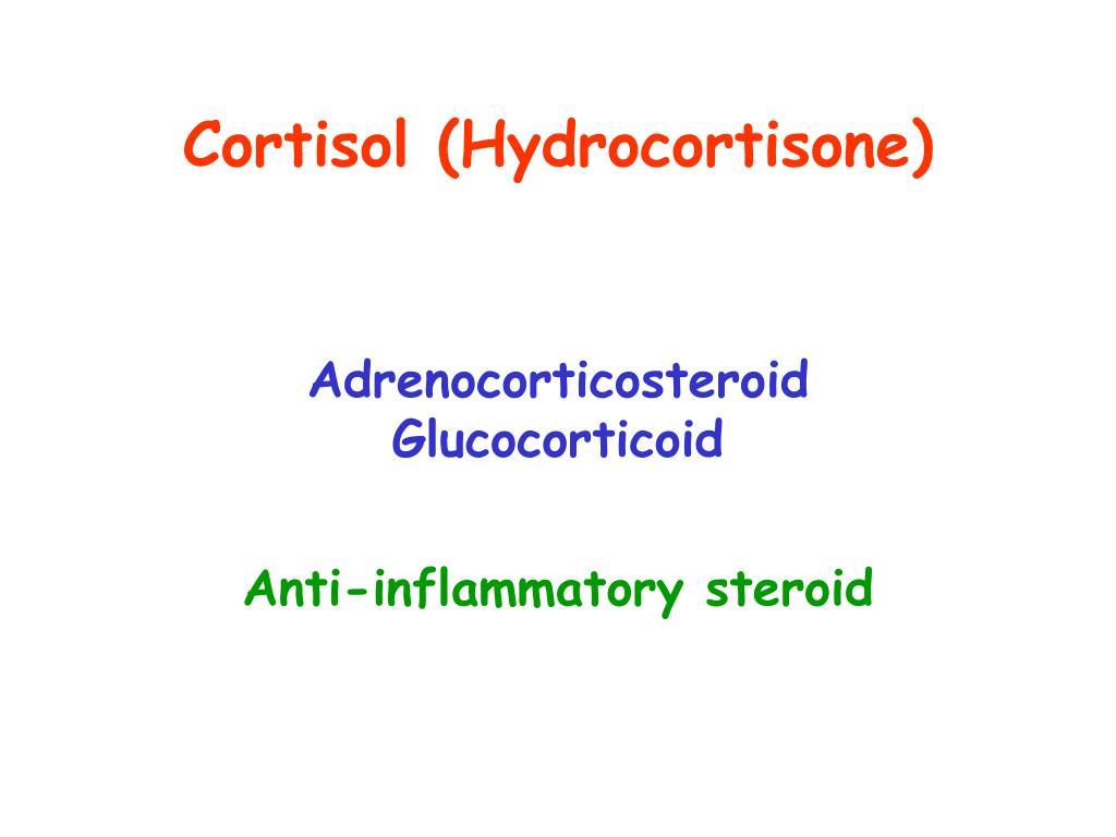 Cortisol (Hydrocortisone)