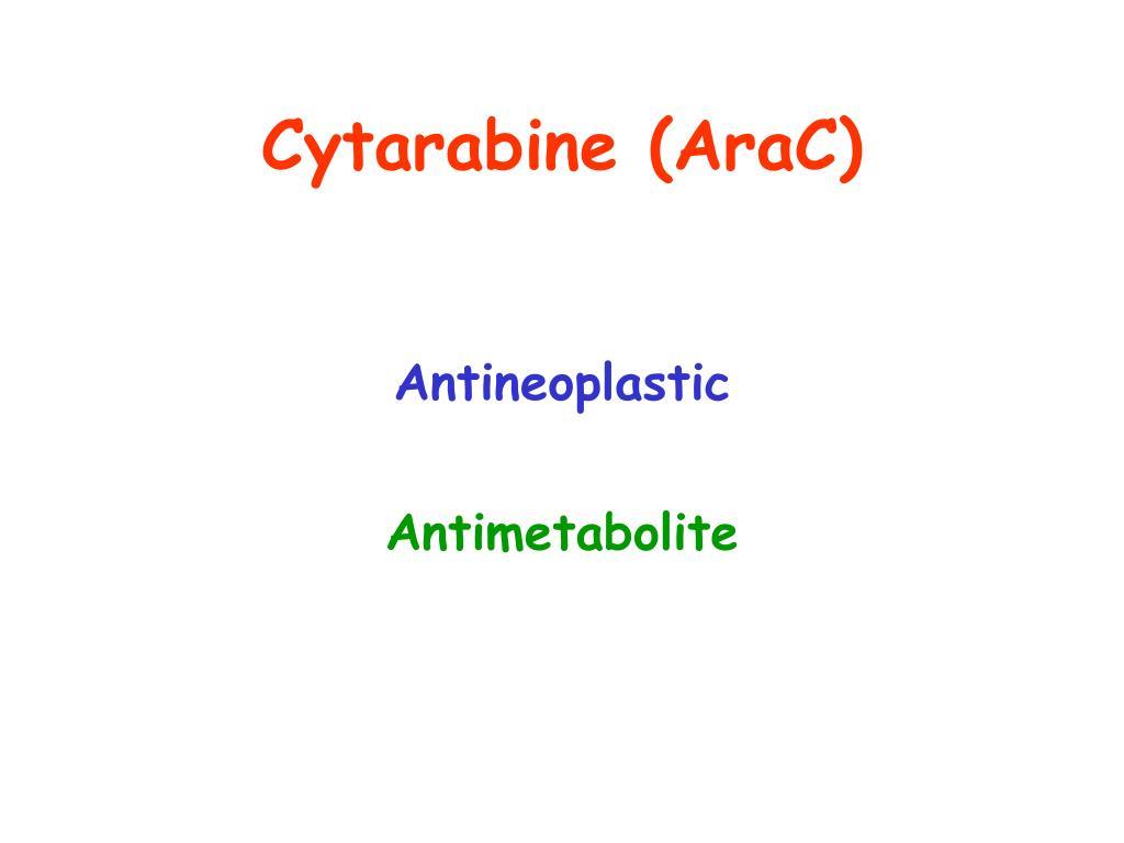 Cytarabine (AraC)