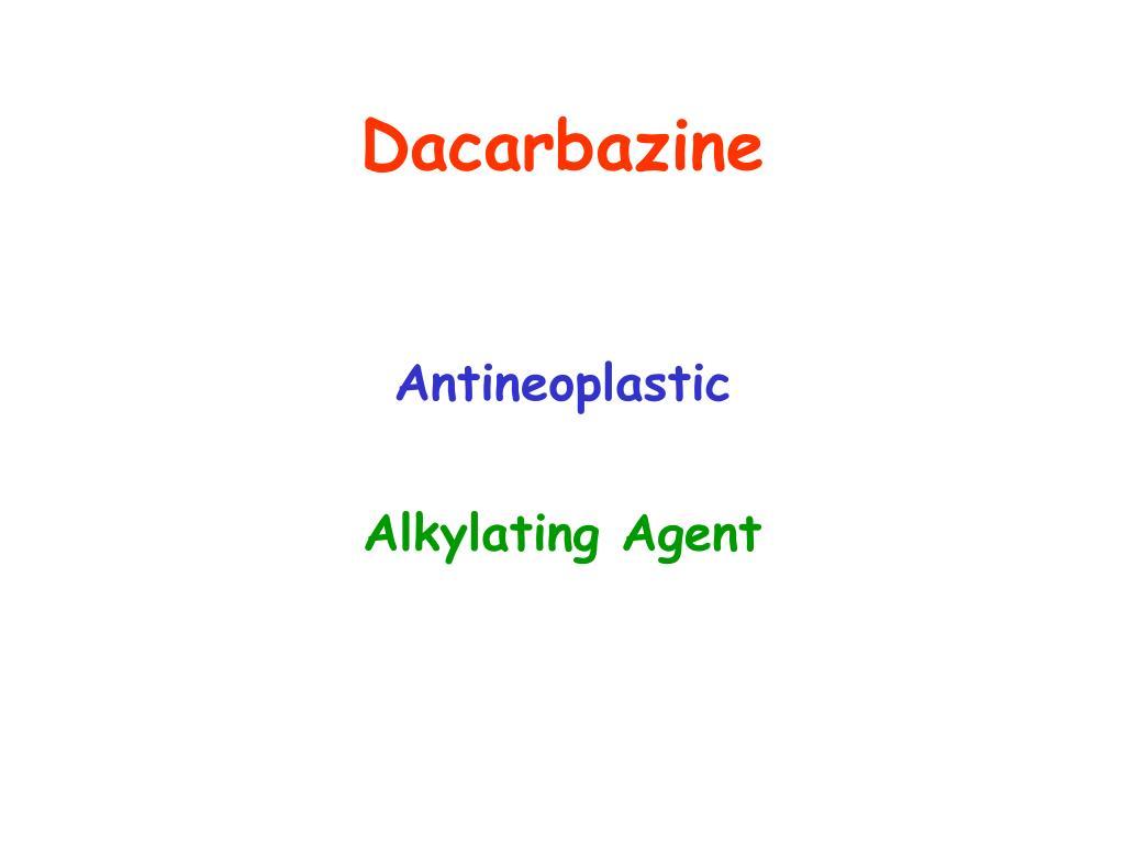 Dacarbazine