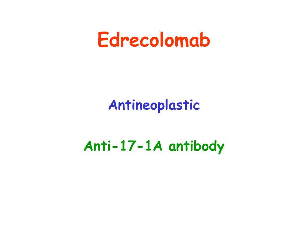 Edrecolomab