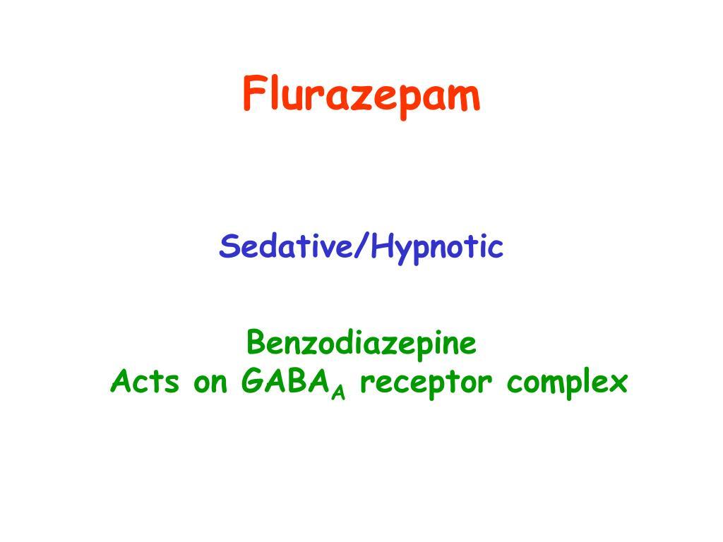 Flurazepam