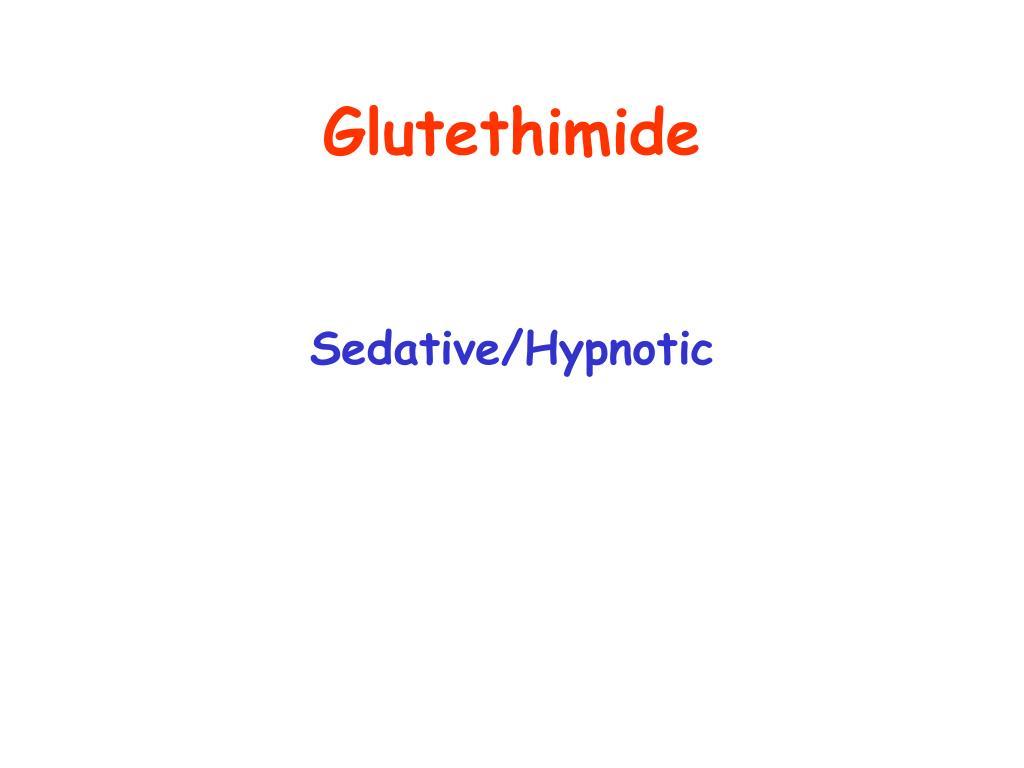 Glutethimide