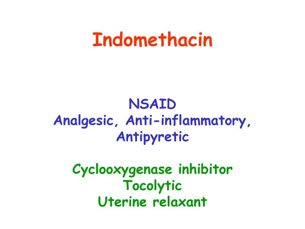 Indomethacin