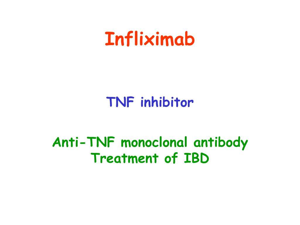 Infliximab