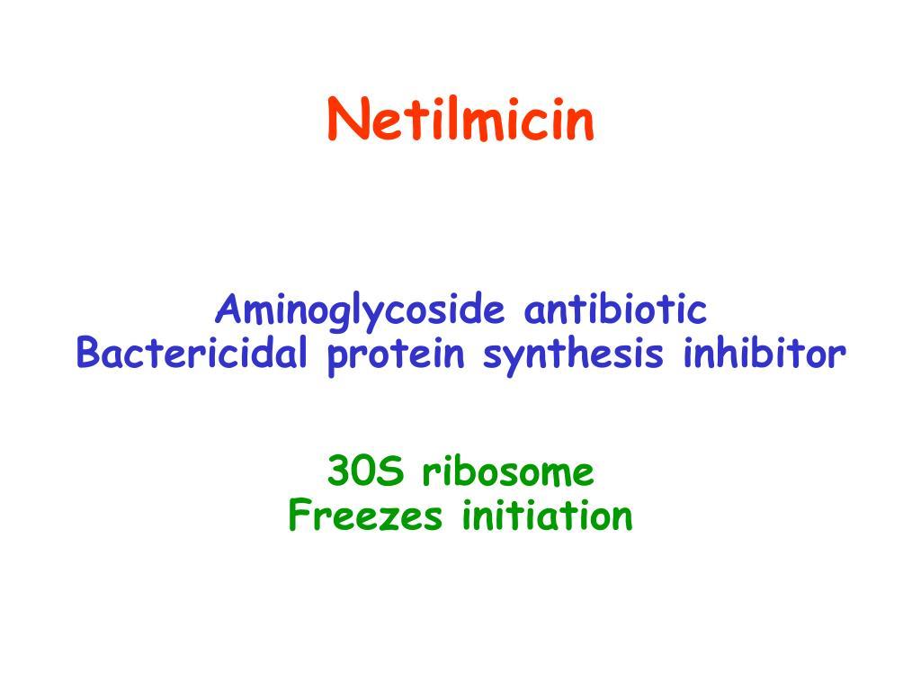 Netilmicin