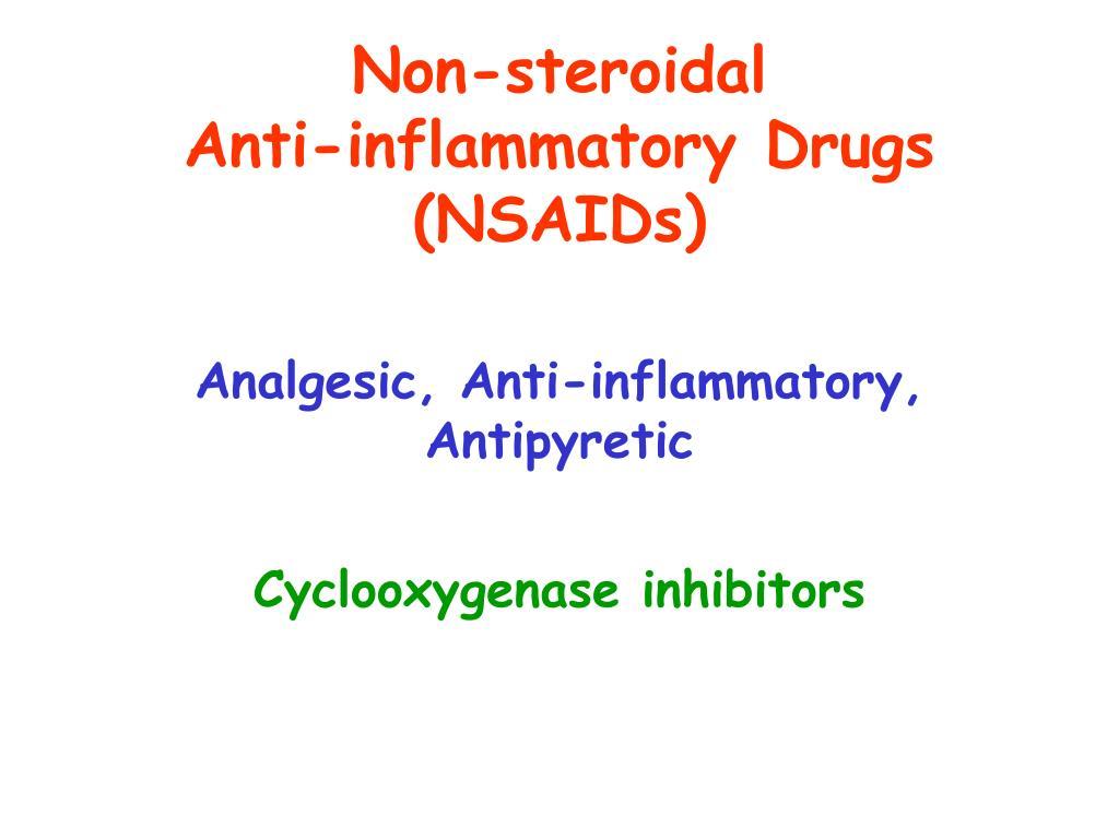 Non-steroidal