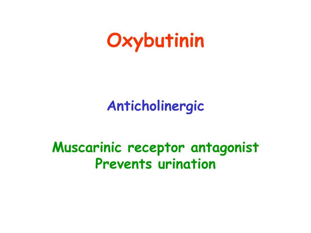Oxybutinin