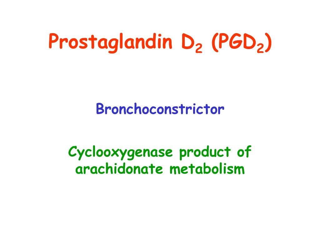 Prostaglandin D